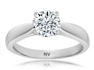 Ladies Solitaire engagement ring